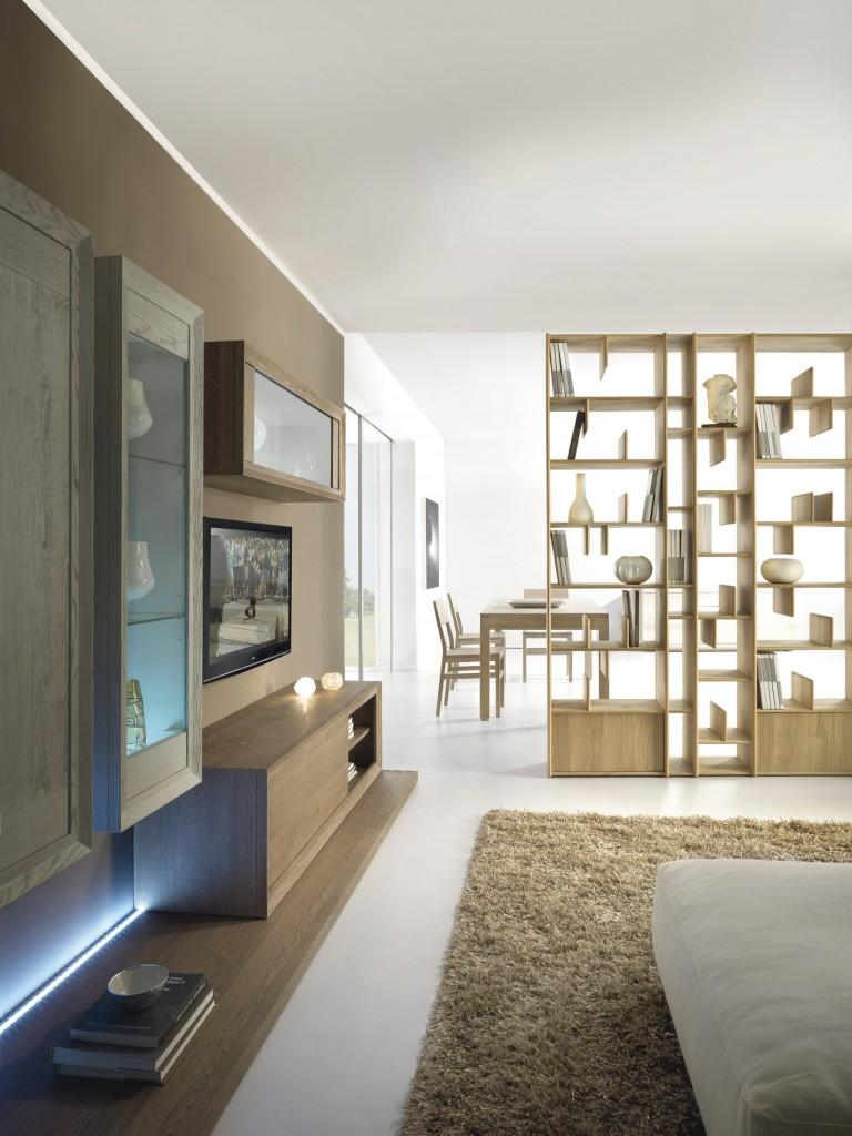 biblioteca-modulara-espace-se62a-realizata-din-lemn-masiv-stejar-natur-accesorizata-cu-polite