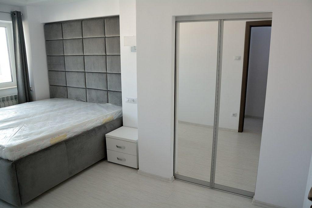 Dormitor realizat pe comanda in 3 piese dressing pat si noptiere pe dimensiunea dorita de client-min