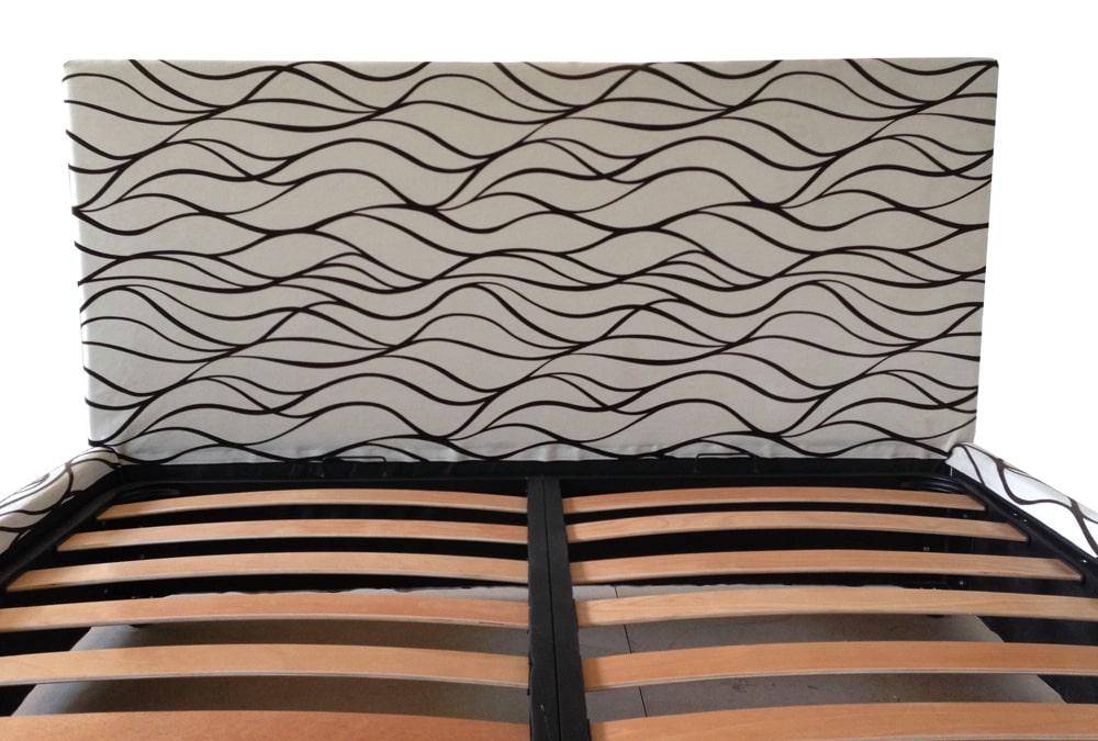 Tablie de pat 160 dehusabil Torino stofa n 5 1 cu tablie din pal hidrofugat-min