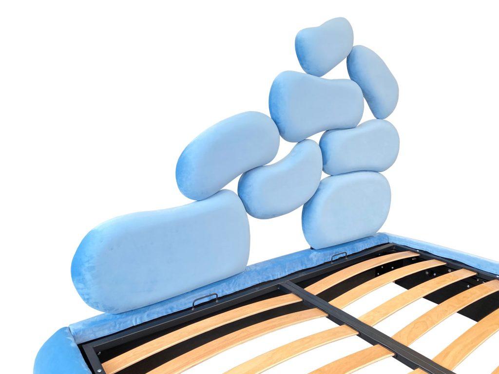 Tablie de pat 180 tapitata model Italia pentru diferite dimensiuni de lada