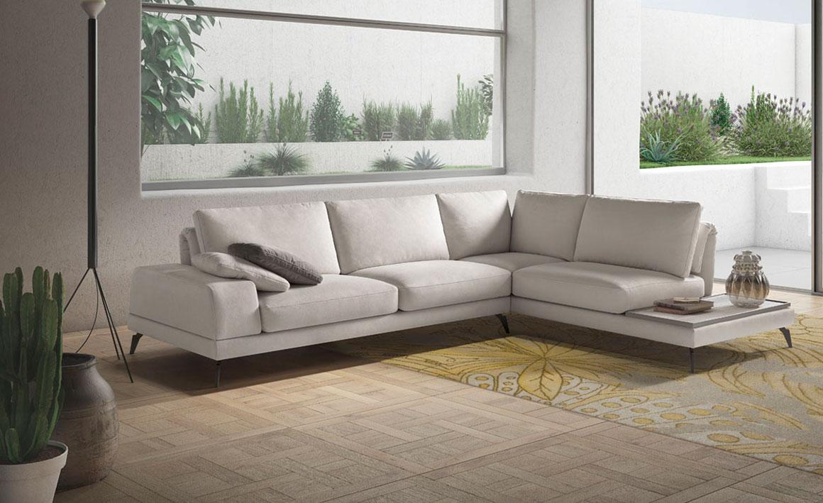 UPPER TIDY canapea coltar cu insula modulara iak.ro vanzari online vedere laterala