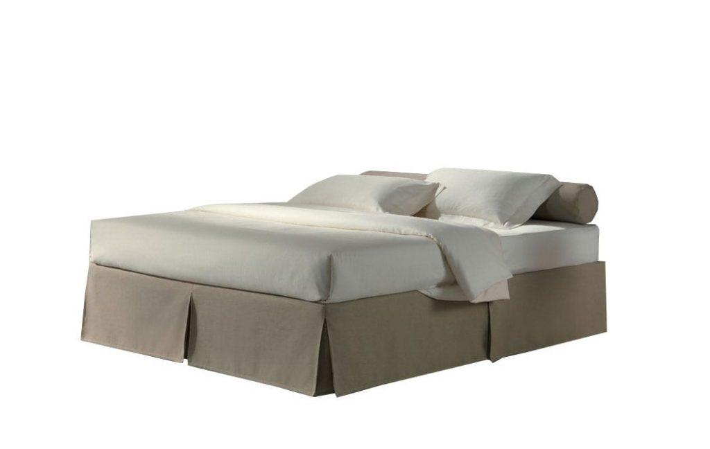 Husa dehusabila tip fusta pentru somiera model box lada de pat iak.ro