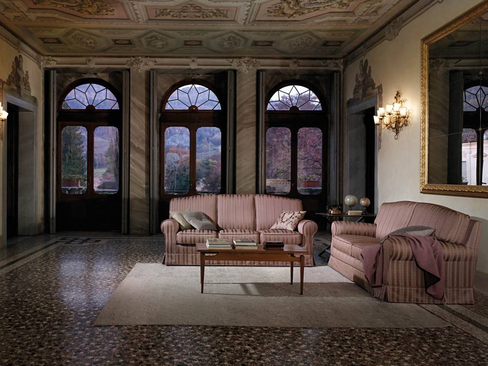 Canapea ROYAL modulara, fixa, extensibila pat, cu husa detasabila, clasic iak.ro